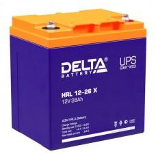 Delta HRL 12-26 X