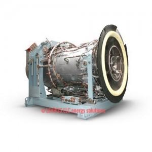 Газотурбинная электростанция мощностью 10 МВт и напряжением 10,5 кВ